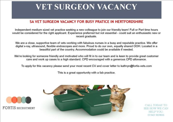 sa-vet-surgeon-vacancy-for-busy-pratice-in-hertfordshire